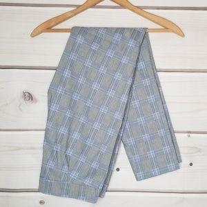 Adrienne Vittadini Plaid Ankle Pants Size 4
